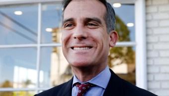 Eric Garcetti, alcalde de Los Ángeles, Estados Unidos.