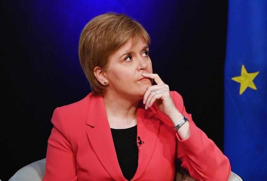 La primera ministra escocesa, Nicola Sturgeon, exige que el pueblo de Escocia tenga la oportunidad de votar por la independencia del Reino Unido (Getty Images/archivo)