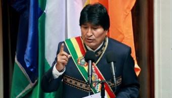 Evo Morales, presidente de Bolivia.