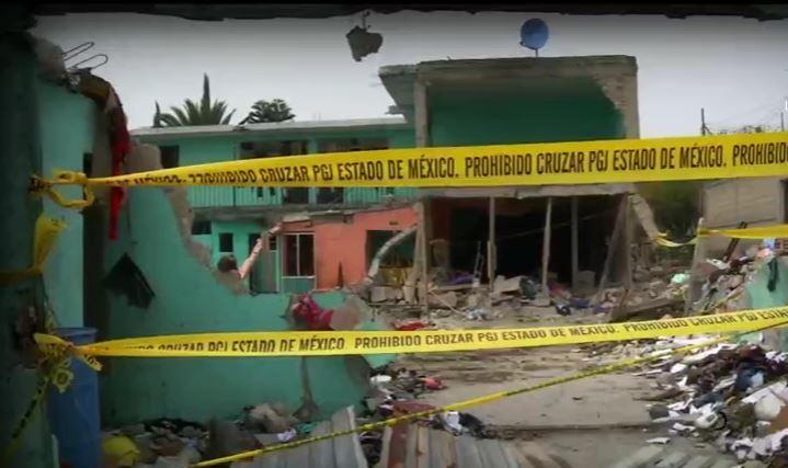 Explosión de pirotecnia en Tultepec, Estado de México (Noticieros Televisa)