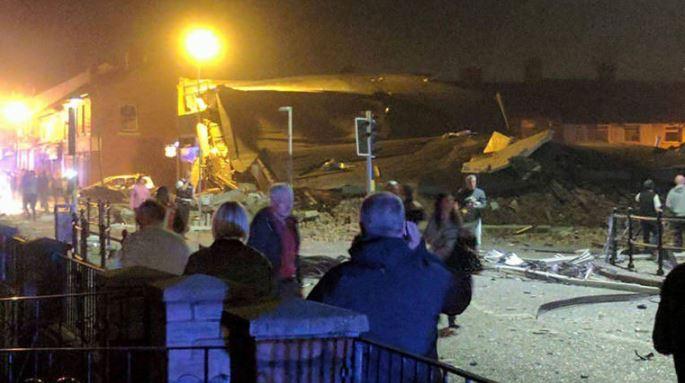 Más de 20 heridos por explosión en edificio cerca de puerto de Liverpool, en el Reino Unido