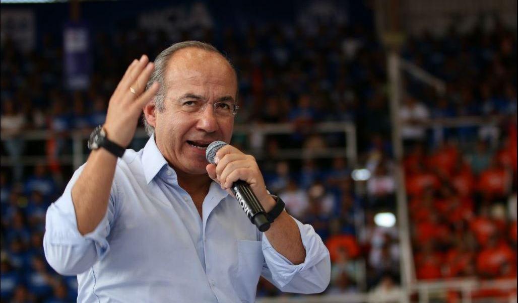 Felipe Calderón, expresidente de México, pide al PAN no equivocarse en la selección del candidato presidencial rumbo al 2018. (Twitter@memo_anaya)