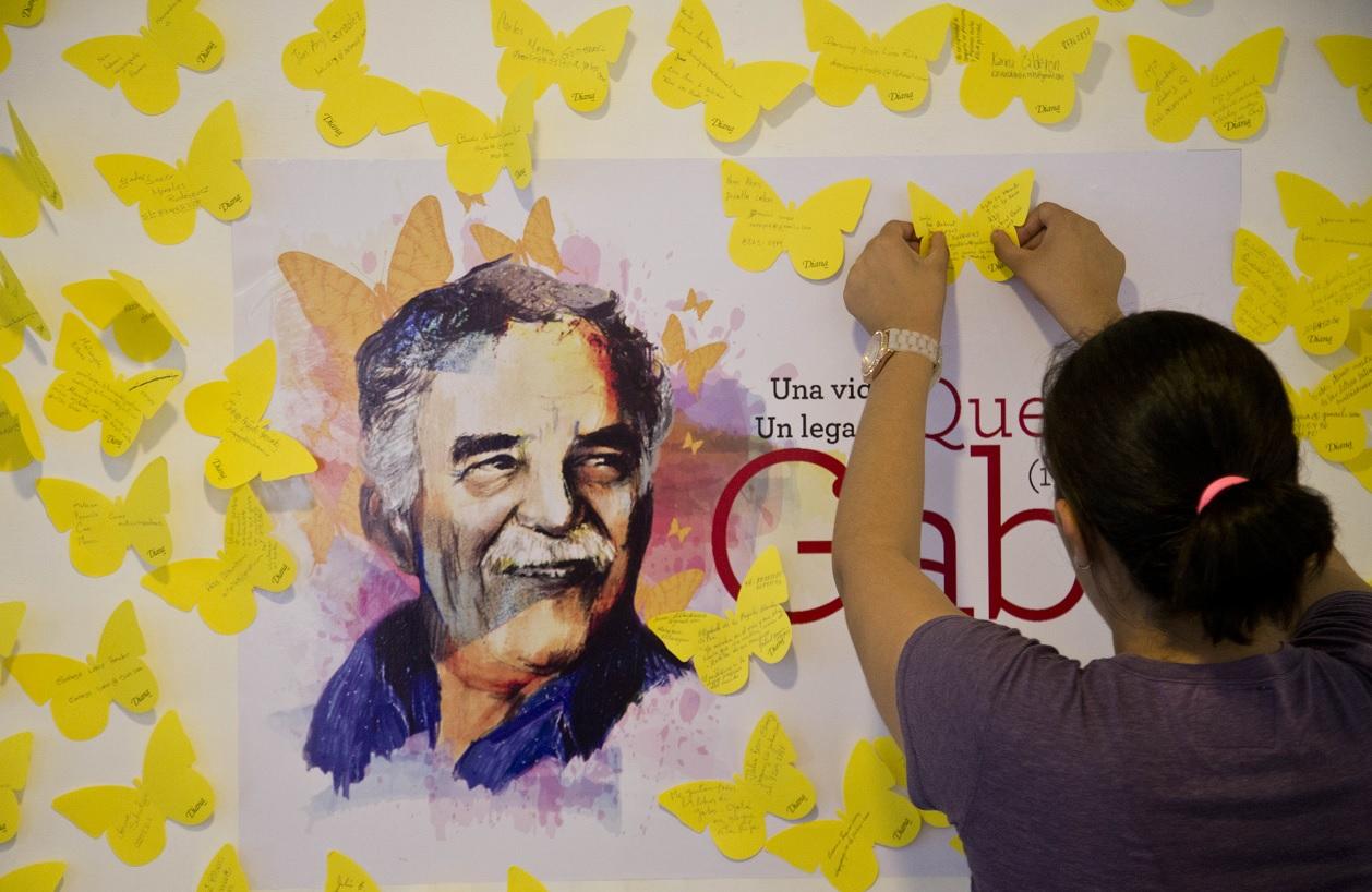 Escritores, políticos y hasta guerrilleros citan a Gabo como fuente de autoridad (AP)