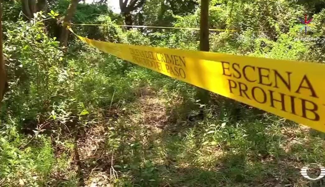 Fosa clandestina descubierta en Alvarado, Veracruz (Noticieros Televisa)