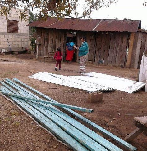 Fuertes vientos del frente frío 34 dañan viviendas en Chiapas. (Noticieros Televisa)