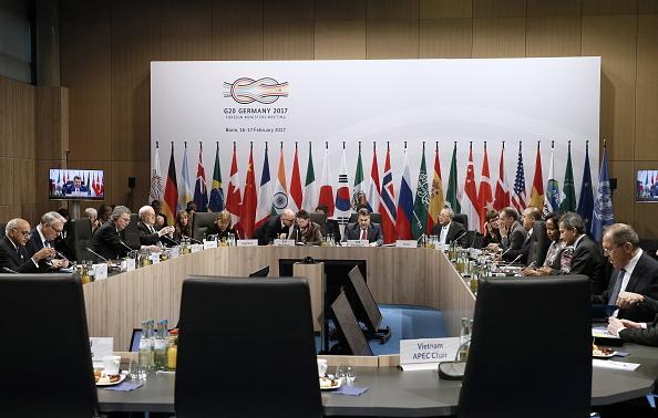 Reunión de ministros de Finanzas del G20. (Getty Images)