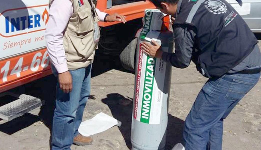 La Profeco intensificó sus acciones de monitoreo en empresas distribuidoras de gas LP en todo el país para detectar irregularidades; sanciona a 128 (NTX)