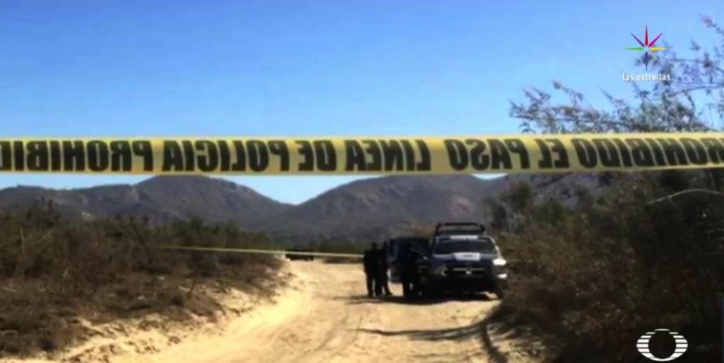 Hallan hieleras con restos humanos en Cabo San Lucas, Baja California Sur. (Noticieros Televisa)