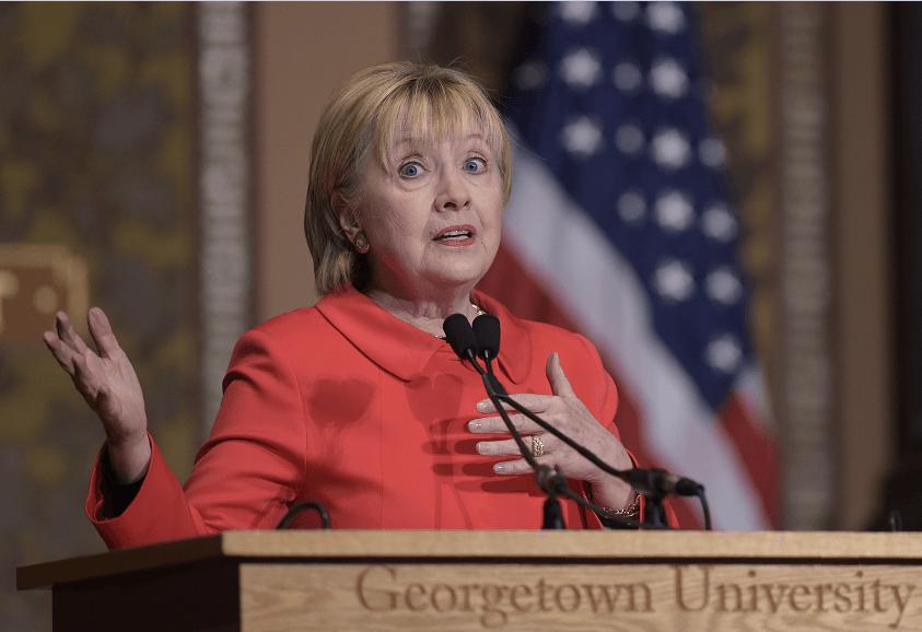 Hillary Clinton, ex secretaria de Estados de Estados Unidos y excandidata presidencial. (AP)