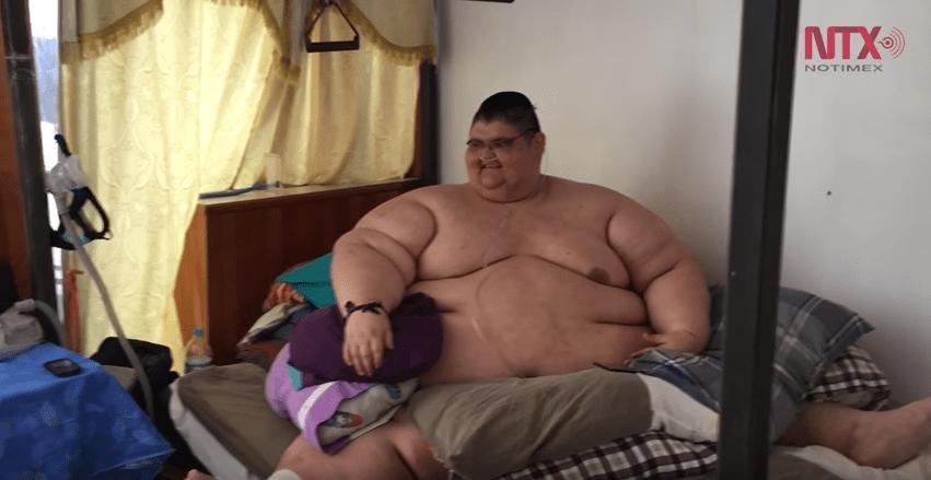 hombre más obeso del mundo, sobrepeso, obesidad