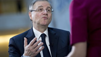 Ignazio Visco, gobernador del Banco Central de Italia. (Getty Images)