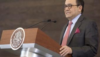 Ildefonso Guajardo, secretario de Economía. (Presidencia de la República)