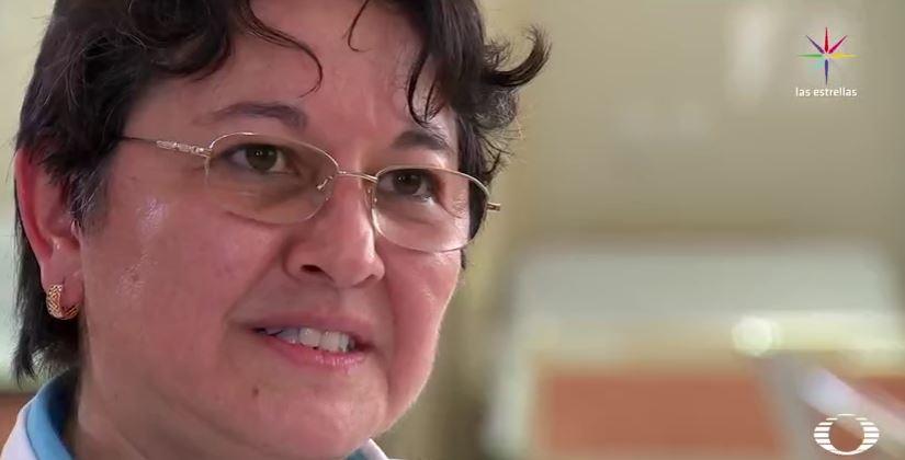Ana Bertha Rivera Ramírez, jefa de Oncopediatría del Instituto de Cancerología de Guerrero (Noticieros Televisa)