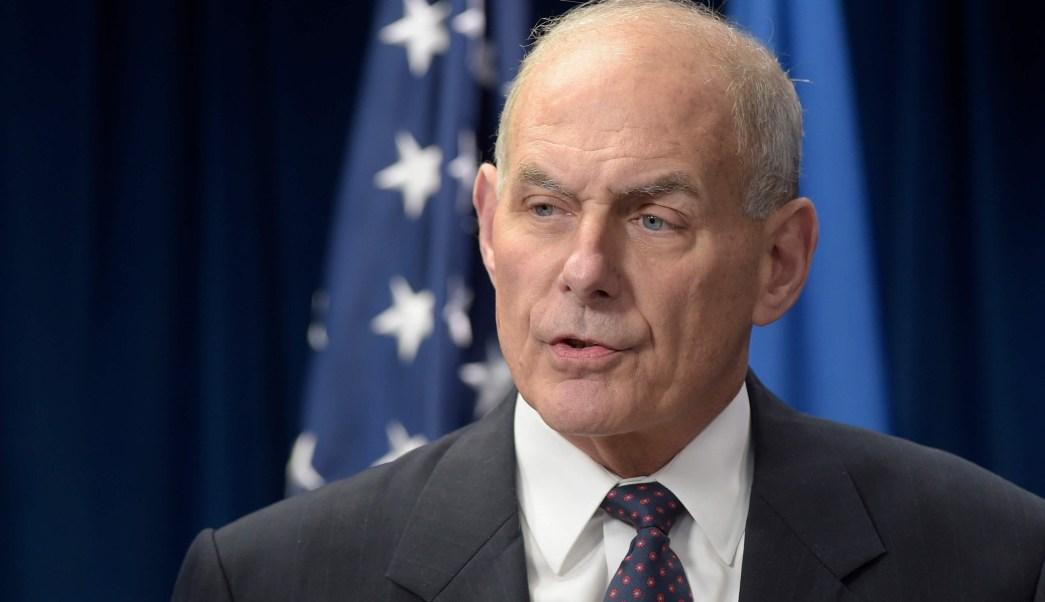 John Kelly, secretario de Seguridad Nacional, Estados Unidos