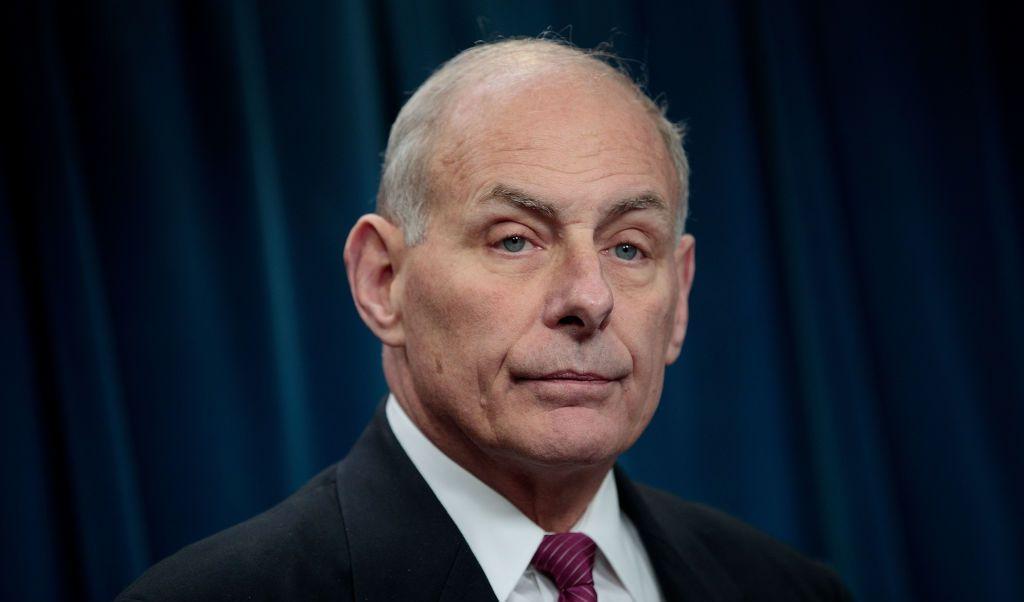 John Kelly, secretario de Seguridad Nacional de Estados Unidos.