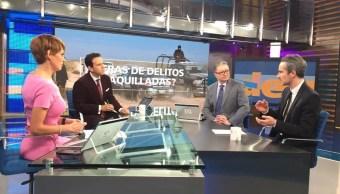 Jonathan Furszyfer, analista de México Evalúa, en la mesa de Despierta con Loret. (Twitter, @NTelevisa_com)