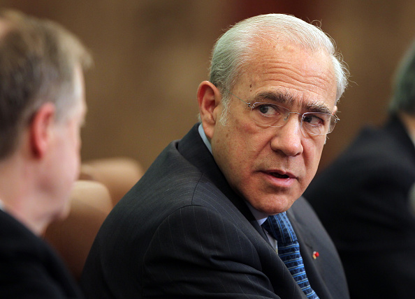 José Ángel Gurría, secretario general de la OCDE. (Getty Images)