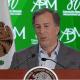 José Antonio Meade, secretario de Hacienda y Crédito Público, en la 80a Convención Bancaria. (Presidencia)