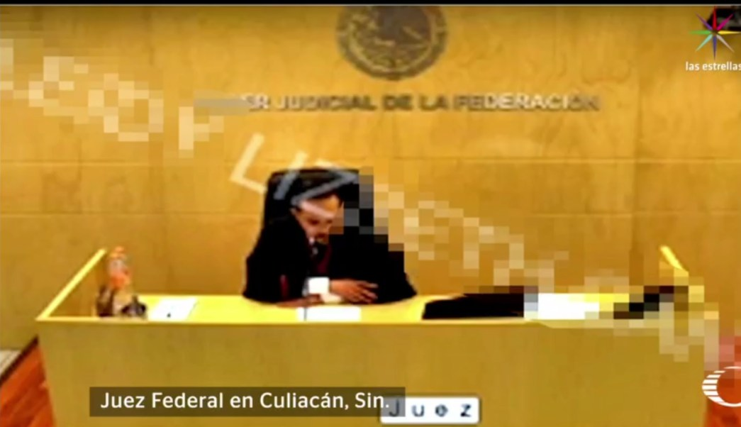 Estimar a Esparragoza Monzón 'como de alta peligrosidad viola el principio de presunción de inocencia', asegura el juez. (Noticieros Televisa)