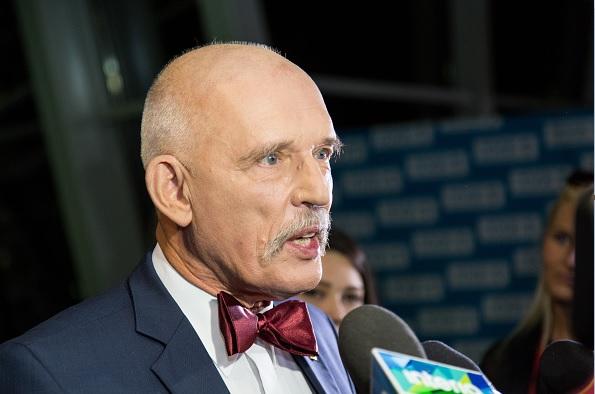 Korwin-Mikke, miembro de la derecha radical que encabeza un partido marginal en Polonia.
