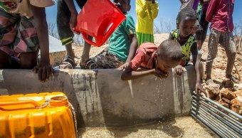La hambruna amenaza a millones en Somalia.