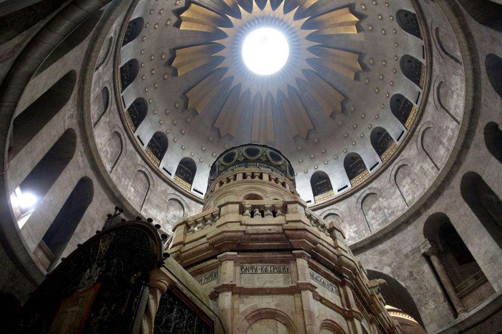 La pequeña construcción con la cúpula sufría problemas de estática desde hace décadas.