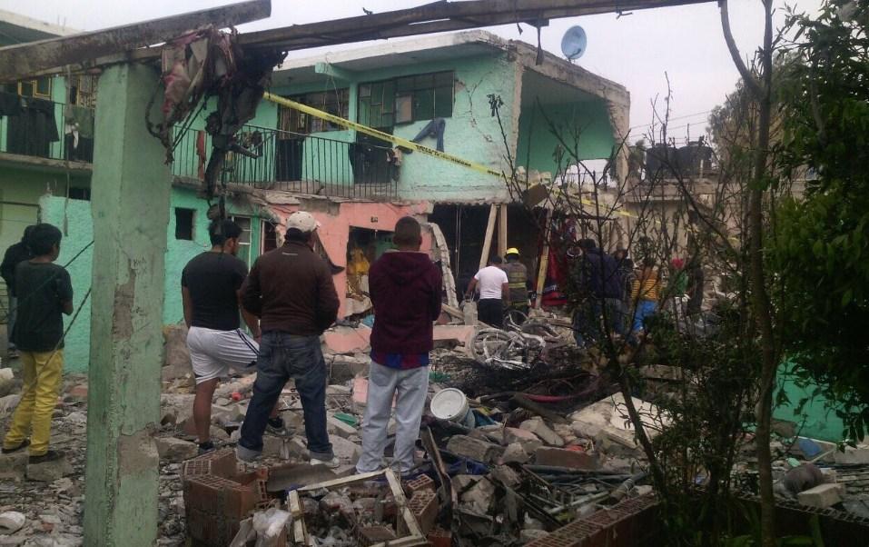 Una explosión de polvorín en Tultepec, Estado de México (Twitter @Iberomed)
