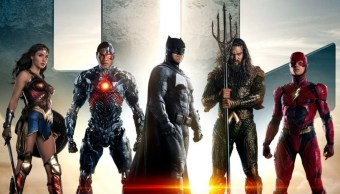 "La ""Liga de la Justicia"" recluta a la Mujer Maravilla y Cyborg para unirse a Batman, Aquaman y Flash (Twitter @justiceleaguewb)"