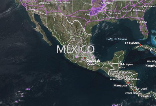esperan lluvias con intervalos de chubascos en Morelos, Tlaxcala, Michoacán, Veracruz, Oaxaca y Guerrero (Sitio accuweather.com)
