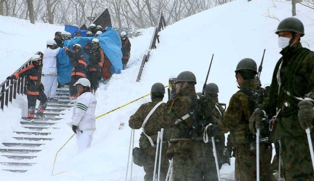 Los siete estudiantes fallecidos tenían entre 16 y 17 años y el profesor 29, según datos de la cadena pública japonesa NHK.