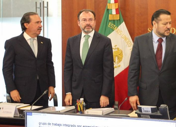 Luis Videgaray, canciller de México (Twitter @SRE_mx)