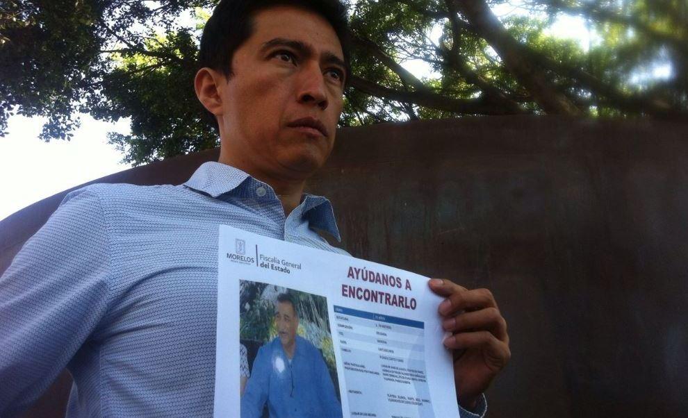 Maestro desaparecido, tepoztlán, Morelos, Seguridad, Violencia, Justicia