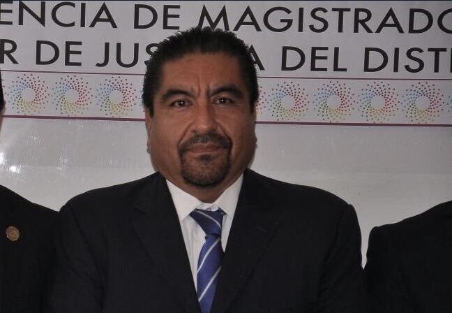 Álvaro Augusto Pérez Juárez participa en un evento; el magistrado es nombrado presidente del Tribunal Superior de Justicia de la Ciudad de México (Twitter @IBetanzosMTDF)