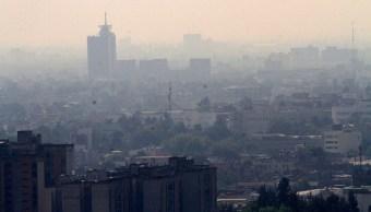 El Valle de México presenta regular calidad del aire. (Notimex)