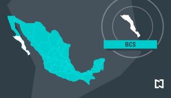 Mapa de Baja California Sur - Marzo 2017 (Noticieros Televisa)