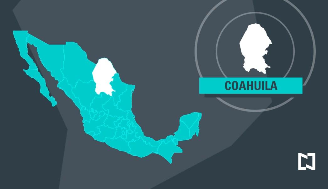 Mapa de Coahuila - Marzo 2017 (Noticieros Televisa)