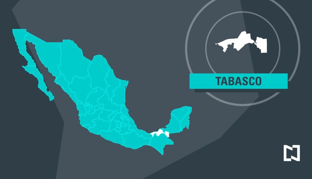 Mapa de Tabasco (Noticieros Televisa)