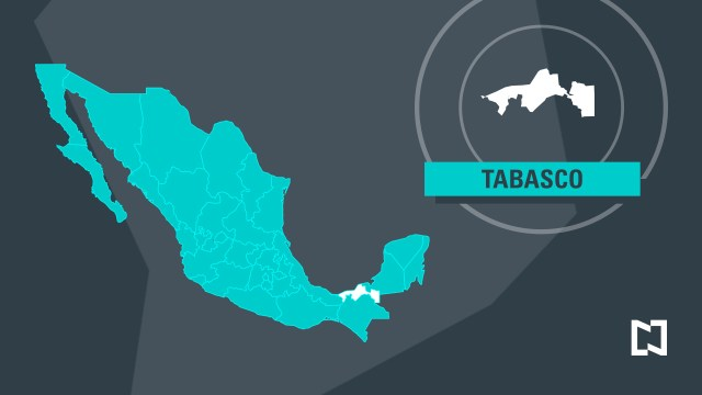 Mapa de Tabasco (Noticieros Televisa)