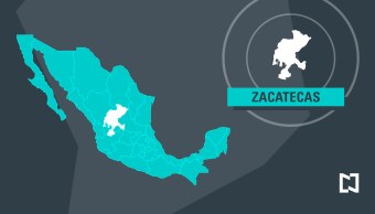 Mapa de Zacatecas - Marzo 2017 (Noticieros Televisa)