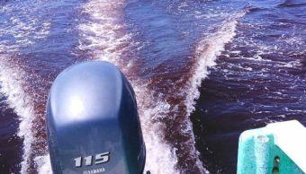 Marea roja no toxica registrada en Manzanillo, Colima (Twitter @saludcolima)