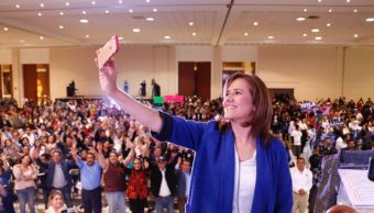 La aspirante a la candidatura presidencial del Partido Acción Nacional (PAN), Margarita Zavala, dijo que el método de designación de candidatos deberá ser el que permita la unión de los panistas (Twitter @Mzavalagc)
