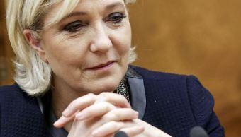 Fotografía que muestra a la candidata a la presidencia de Francia, Marine Le Pen. (AP/archivo)