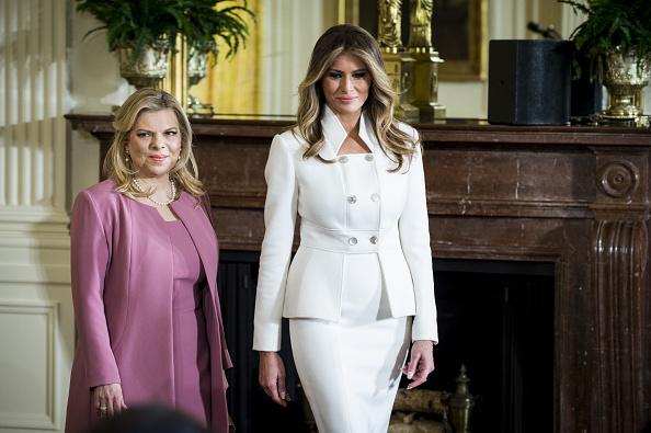 Melania Trump. (Getty Images)