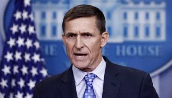 Michael Flynn, exasesor del presidente de Estados Unidos, Donald Trump.