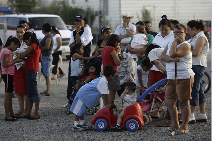 Migrantes en California, Estados Unidos. (AP, archivo)