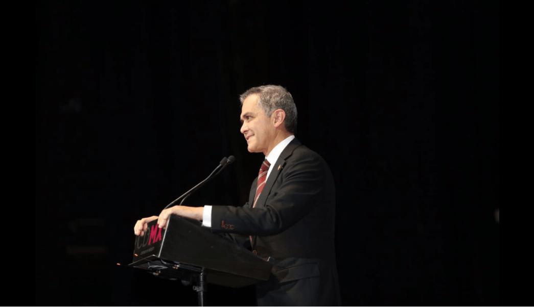 Miguel Ángel Mancera, jefe de gobierno de la CDMX. (@ManceraMiguelMX)