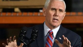 El vicepresidente de Estados Unidos, Mike Pence, inició la campaña prevista por la Casa Blanca para defender el nuevo plan de salud republicano