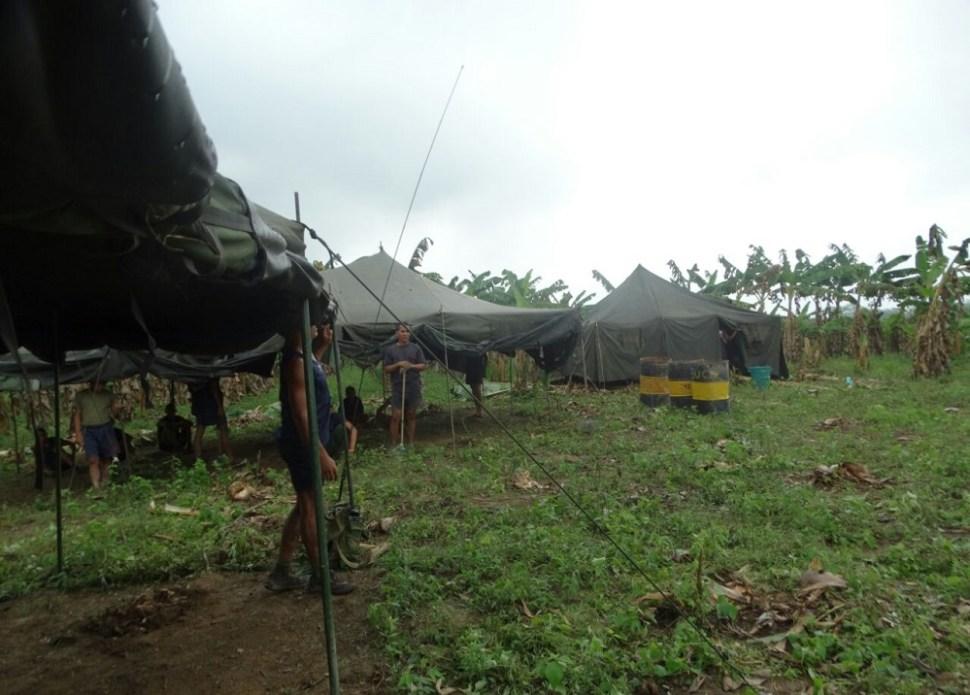 Militares venezolanos habrían instalado campamento en Arauca, Colombia.