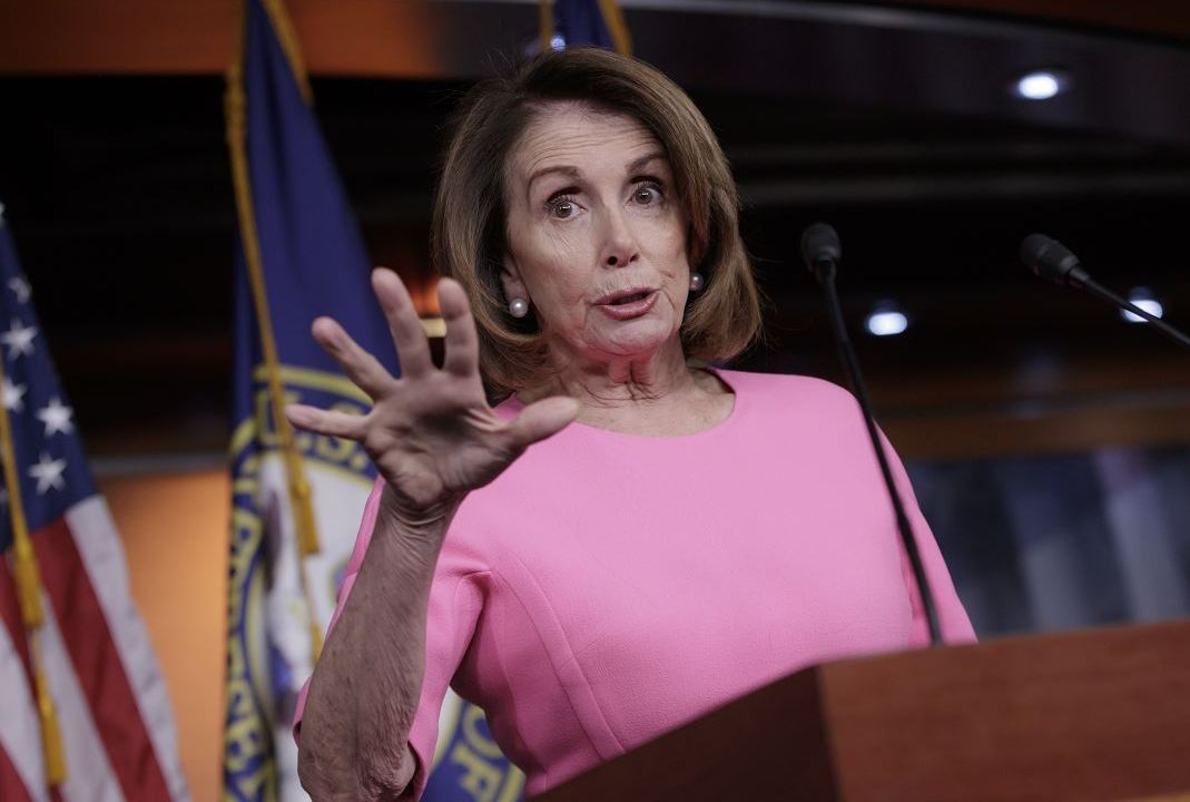 Nancy Pelosi, líder de los demócratas en la Cámara de Representantes de Estados Unidos (AP)