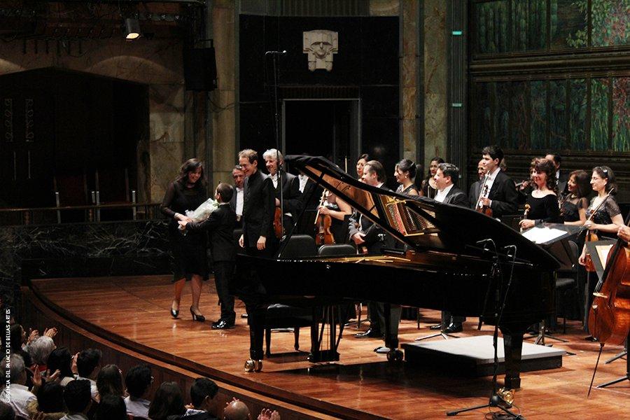 Presentarse en Bellas Artes es un orgullo para Sergio. (Twitter: @PalacioOficial)